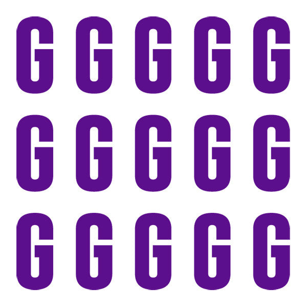 ID4 Euro Large Purple Letter G