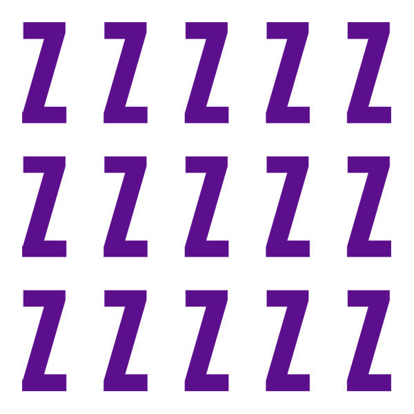 ID4 Euro Large Purple Letter Z