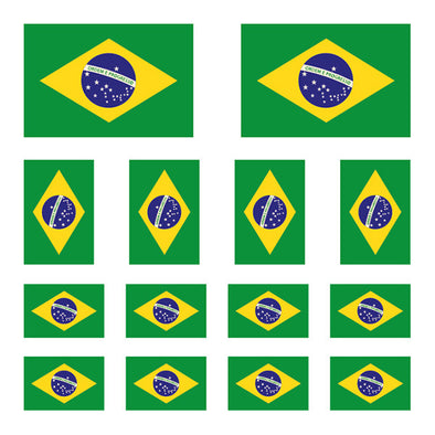 iD4 Brazilian Flag Mix