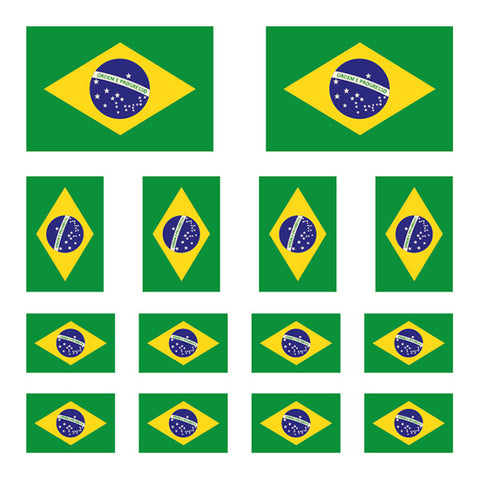Brazilian Flag Mix