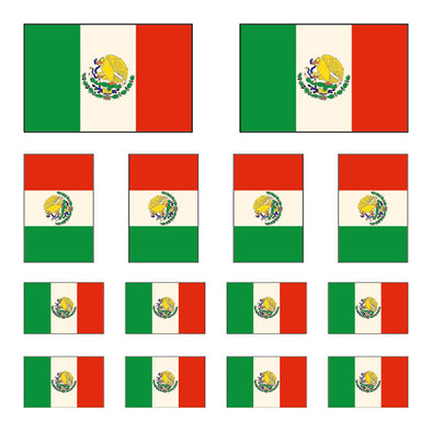 iD4 Mexican Flag Mix