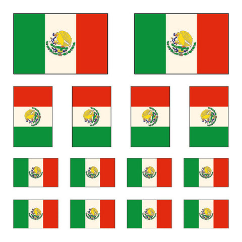 Mexican Flag Mix