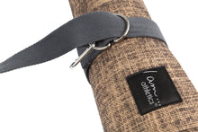 Load image into Gallery viewer, LIMITED EDITION: Natural Jute Mat Includes 2-in-1 Carrying Strap