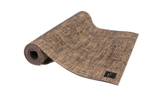 LIMITED EDITION: Natural Jute Mat Includes 2-in-1 Carrying Strap