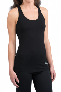 Satin Seam Athletic Tank Top
