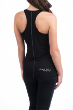 Load image into Gallery viewer, Satin Seam Athletic Tank Top