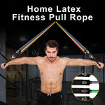 Load image into Gallery viewer, Home Latex Fitness Pull Rope