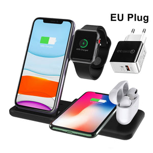 4 in 1 Wireless Charging Stand