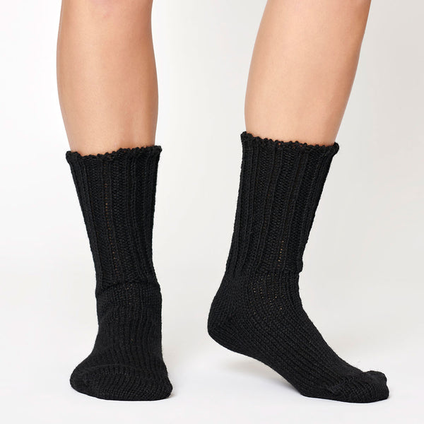 Rugger Wool Socks - Black