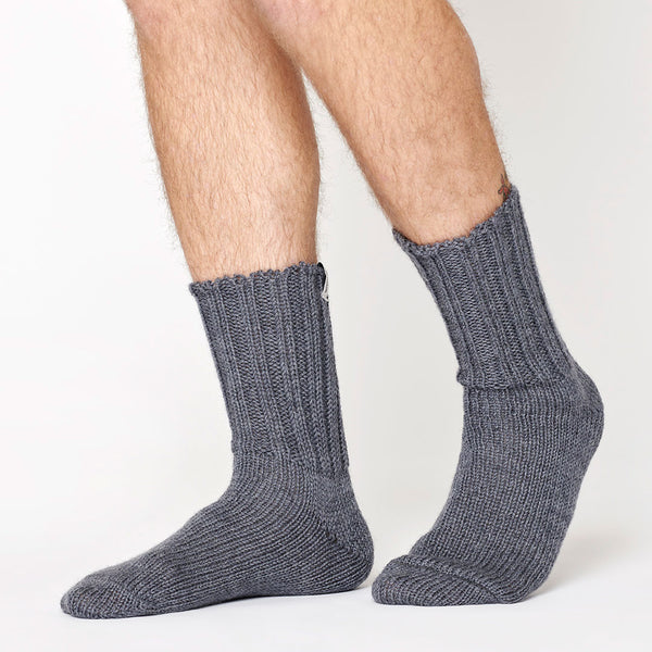 Rugger wool socks - Dark Grey