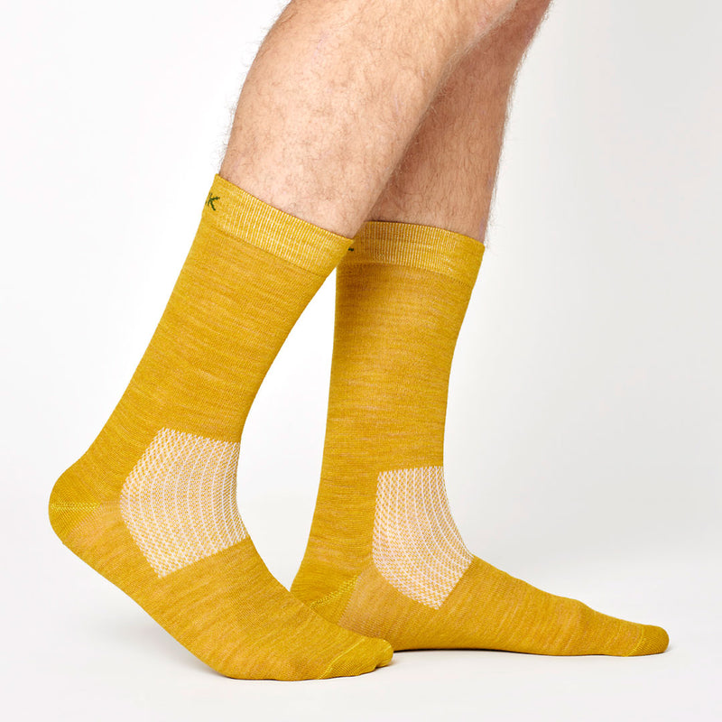 Everyday Merino Socks - Olive Green
