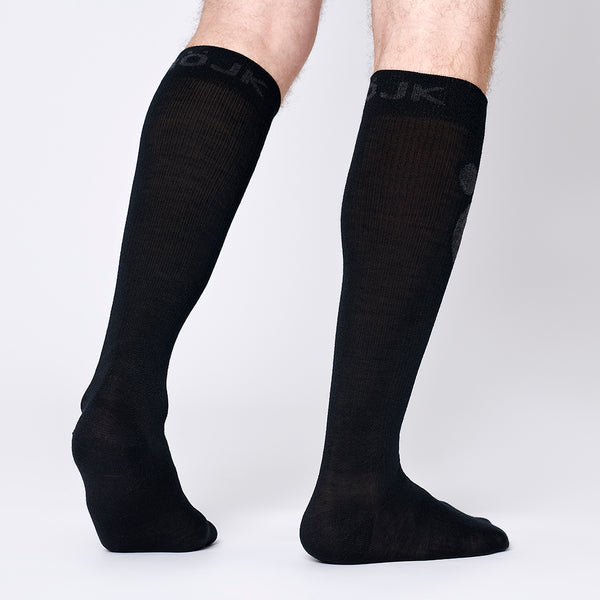 Merino Compression Socks - Blackberry