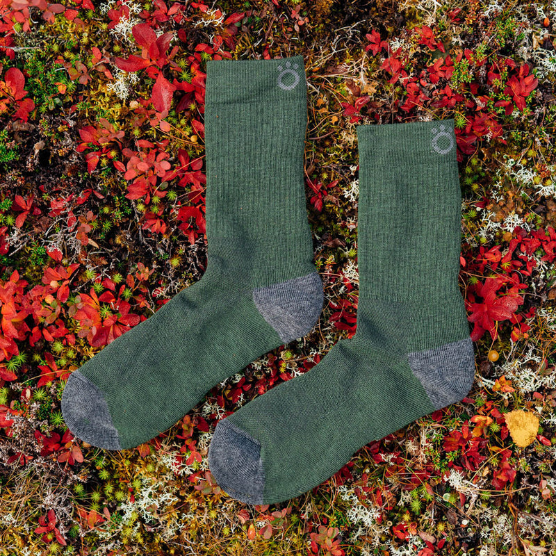 Hiker Merino Mid Socks - Forest green