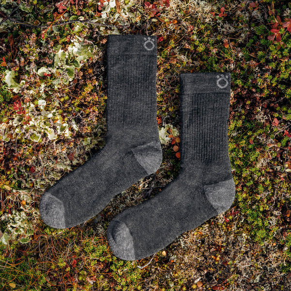 Hiker Merino Mid Socks - Dark Grey