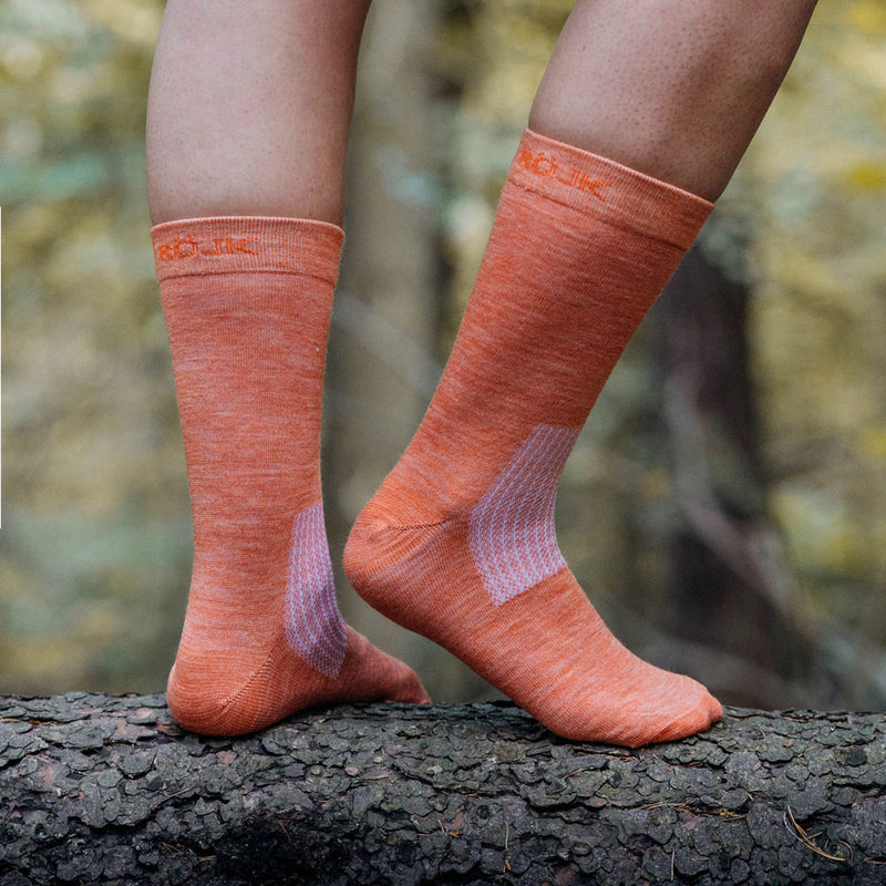 Everyday Merino Socks - Rusty pink