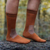 Everyday Merino Socks - Rusty brown