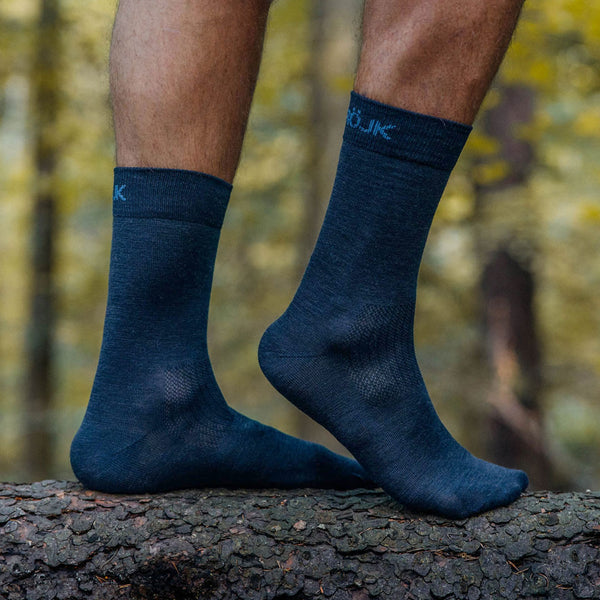 Everyday Merino Socks - Navy