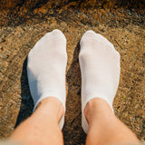 Everyday Merino Short Socks - White