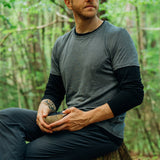 Men's Merino T-shirt - Anthracite