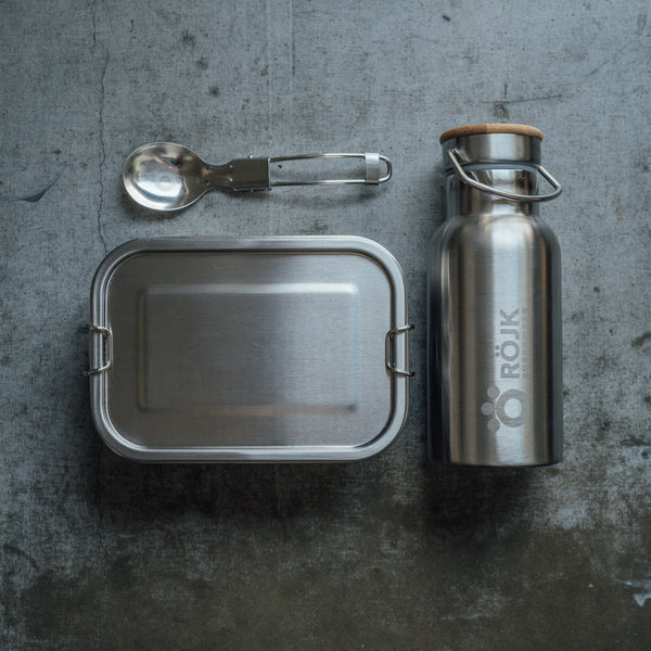 Stainless Steel Lunch Box + Thermos