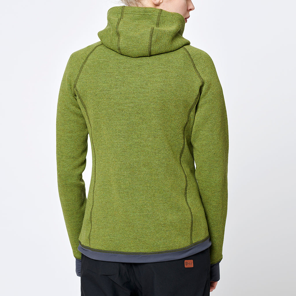 Limited Women's Eskimo Hoodie Spring Green