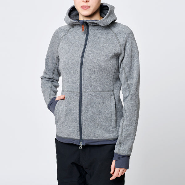 Limited Womens Eskimo Hoodie Grey (outlet)