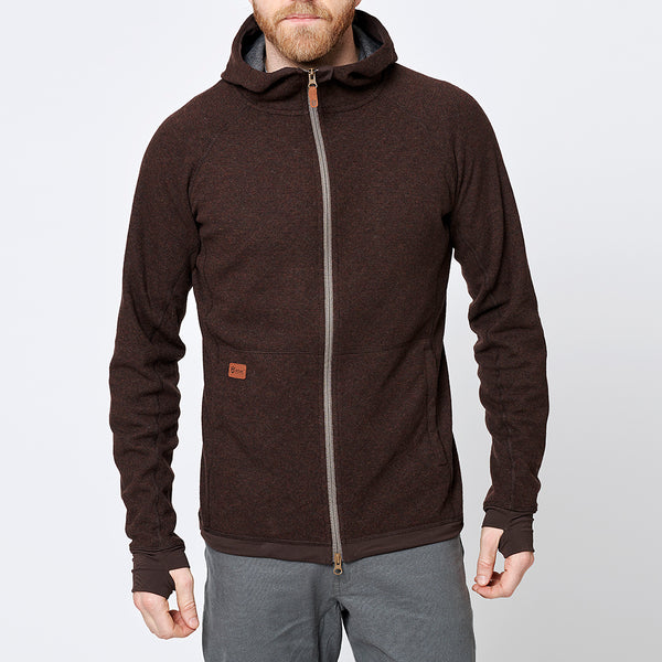 Limited Men's Eskimo Hoodie - Dark Brown