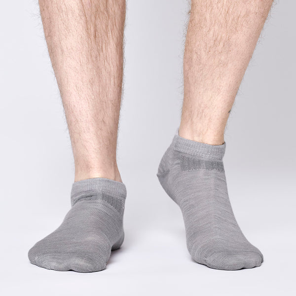 Everyday Merino Short Socks - Dark Grey