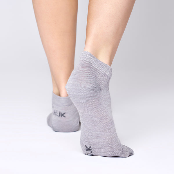 Everyday Merino Short Socks - Light Grey
