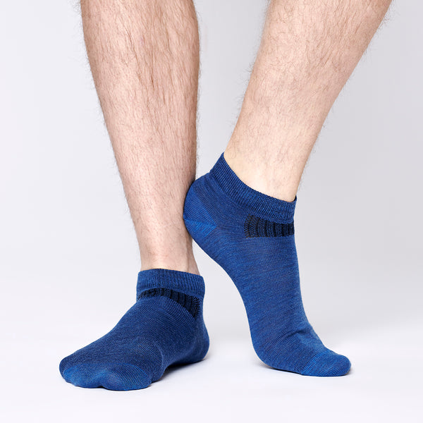 Everyday Merino Short Socks - Navy