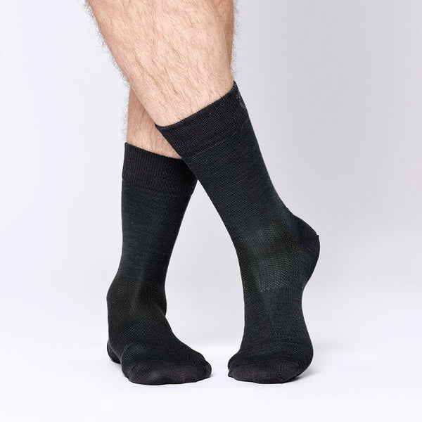 Everyday Merino Socks - Black