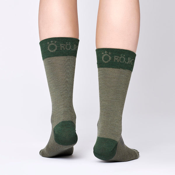 Everyday Merino Socks - Juniper Green