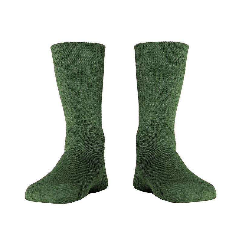 Hiker Merino Mid Socks - Dark Green