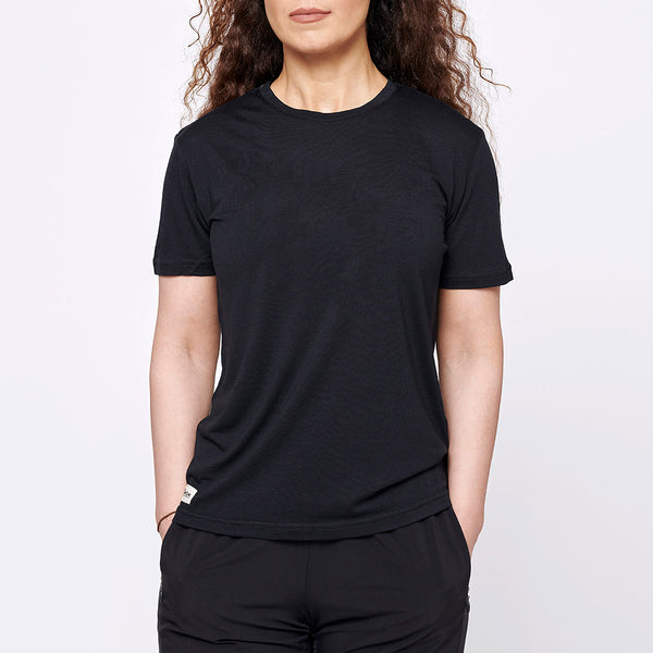 Women's Merino T-shirt - Black