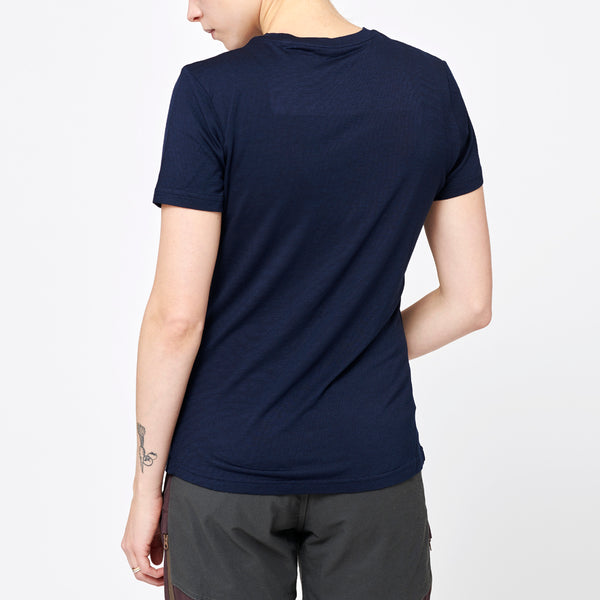 Women's Merino T-shirt - Navy