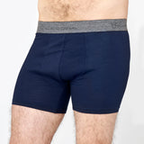 Men's SuperBase Merino Boxer - Bilberry
