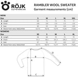 Men's Rambler Wool Sweater - White Currant