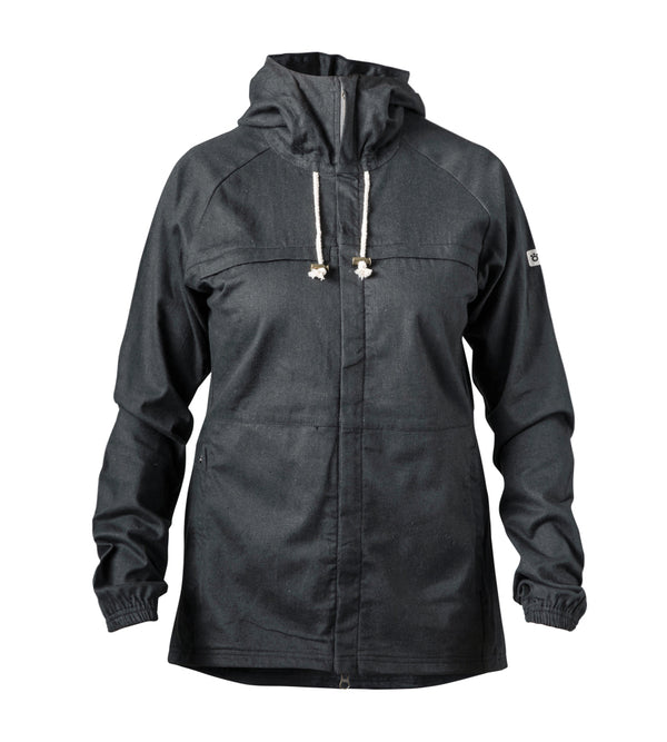 Women's Rover Hemp Jacket - Blackberry