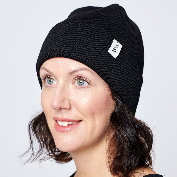 Day Merino Beanie - Black