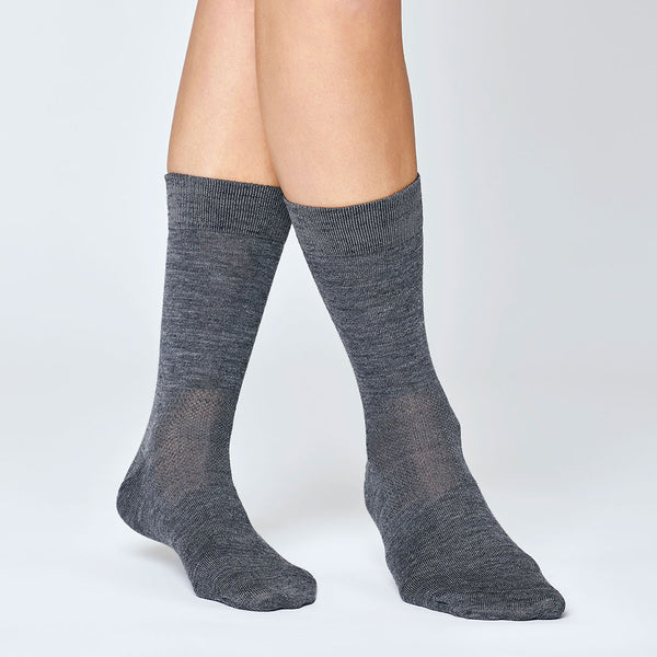 Everyday Merino Socks - Dark Grey