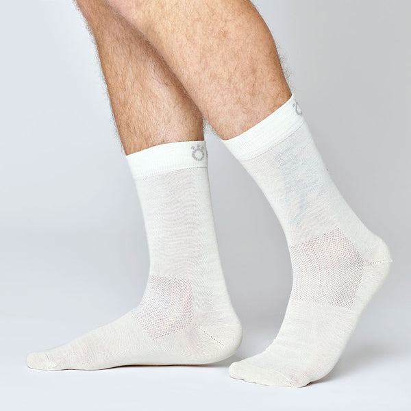 Everyday Merino Socks - White