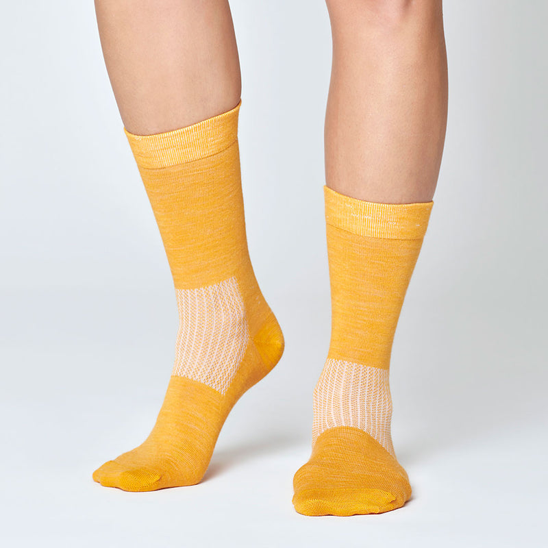 Everyday Merino Socks - Yellow