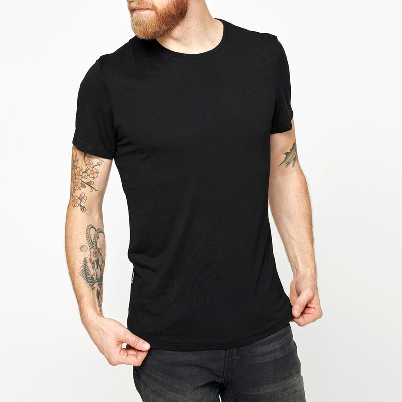 Men's Merino Base T-shirt - Black