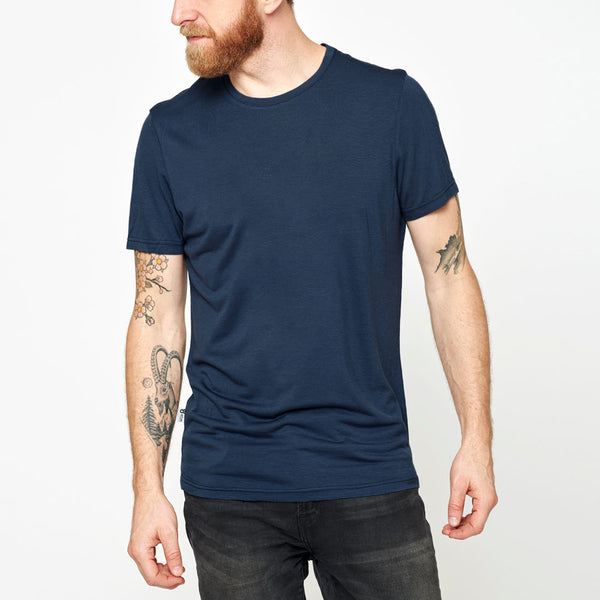 Men's Merino Base T-shirt - Navy