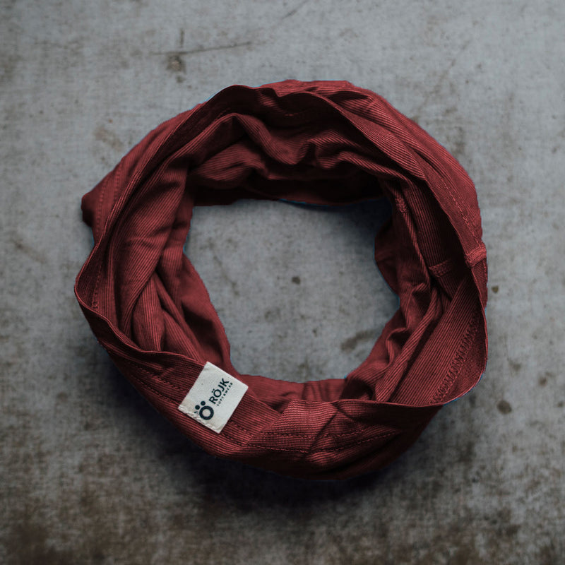 Merino Neck Tube - Rusty Red