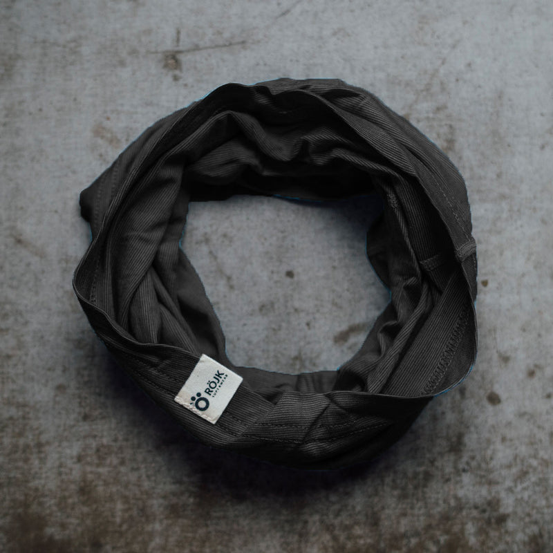 Merino Neck Tube - Black