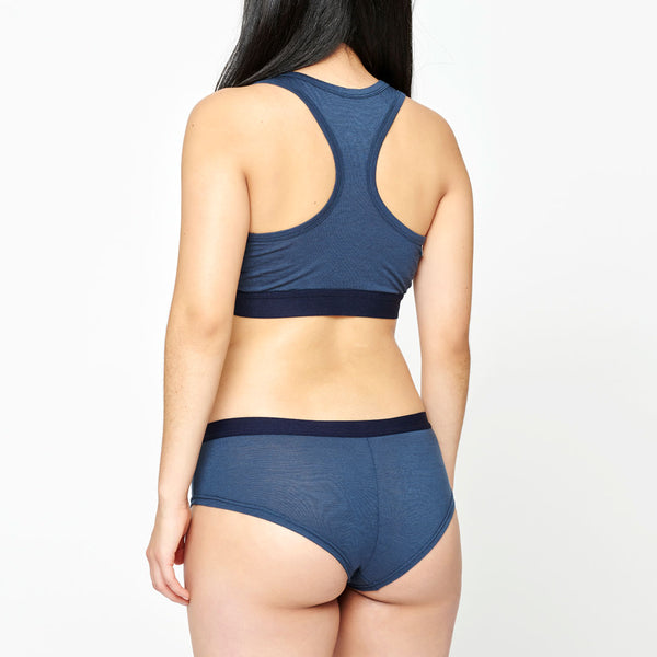 Women's Merino Hipster - Midnight Navy