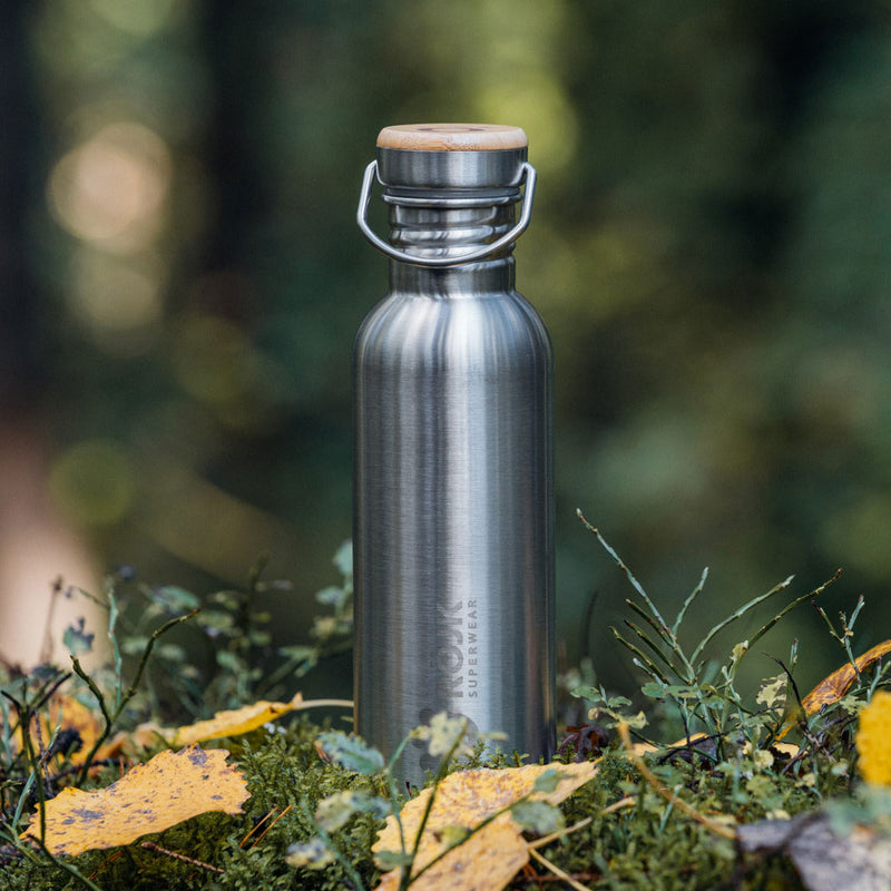 Stainless Steel Bottle 750 ml - Silver