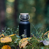 Stainless Steel Thermos 350 ml - Black