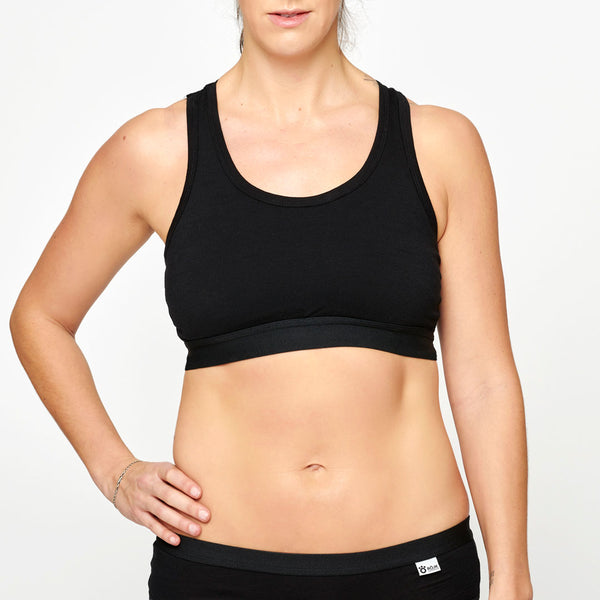 Women's Merino Top - Black